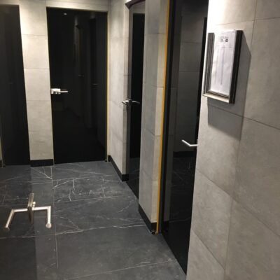 двері скляні WC