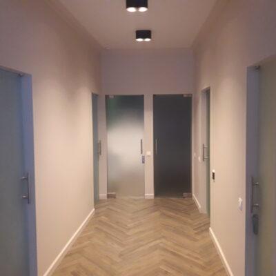 скляні двері для стоматології